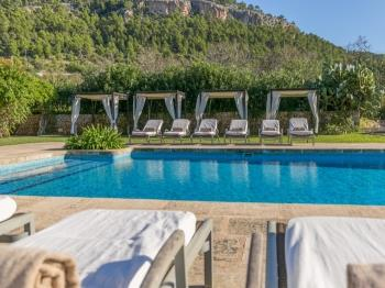 Historical house Mallorca pool wifi aircon/heat - Apartment in Andratx
